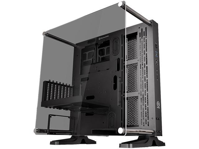 99.99 - Thermaltake Core P3 TG Black ATX Open Frame Panoramic Viewing Tt LCS Certified Gaming Computer Case CA-1G4-00M1WN-06