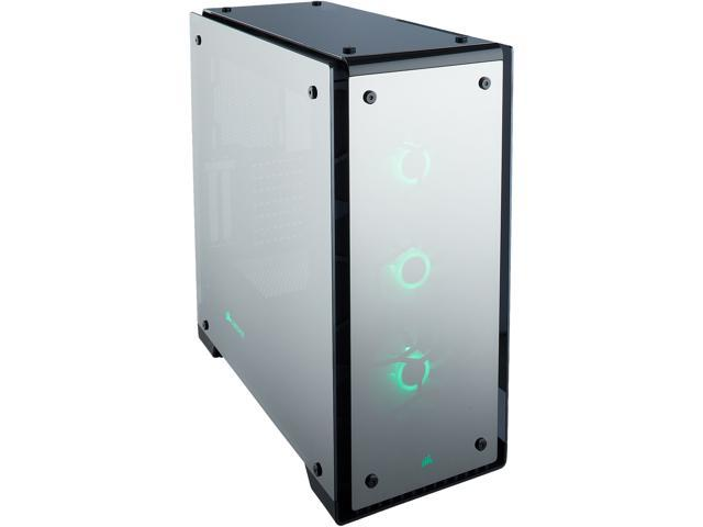 timeless design 1ad96 38209 CORSAIR Crystal Series 570X RGB Mirror Black Tempered Glass, Premium ATX  Mid Tower Case - Newegg.com