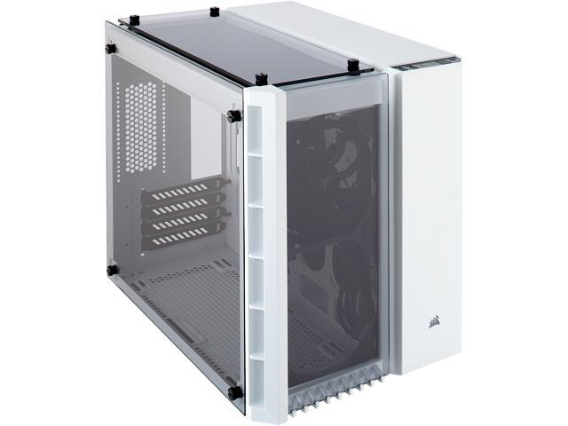 Corsair Crystal Series 280X CC-9011136-WW White Steel / Plastic / Tempered Glass Micro ATX Computer Case