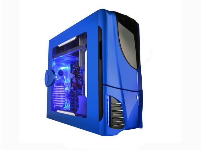 Nzxt Apollo Blue Np Blue Secc Steel Chassis Atx Mid Tower