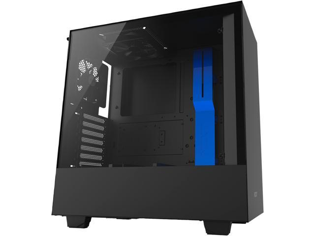 Nzxt H500 Compact Atx Mid Tower Pc Gaming Case Tempered Glass