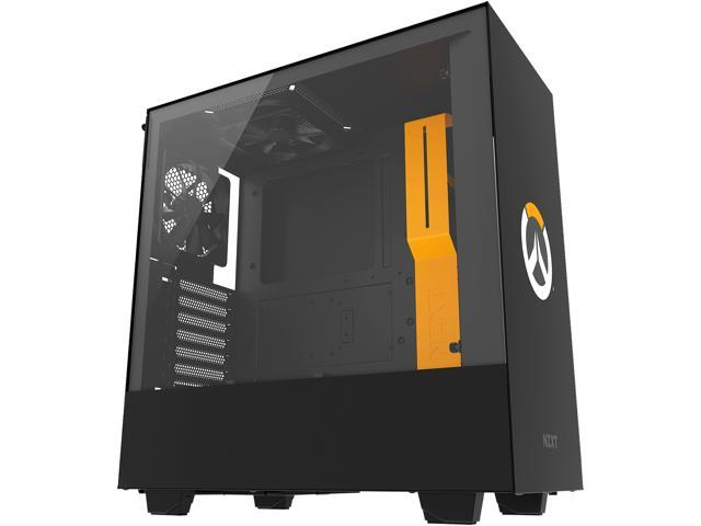 NZXT H500 - Overwatch Special Edition - Compact ATX Mid-Tower PC Gaming  Case - Tempered Glass Panel - All-Steel Construction - Enhanced Cable
