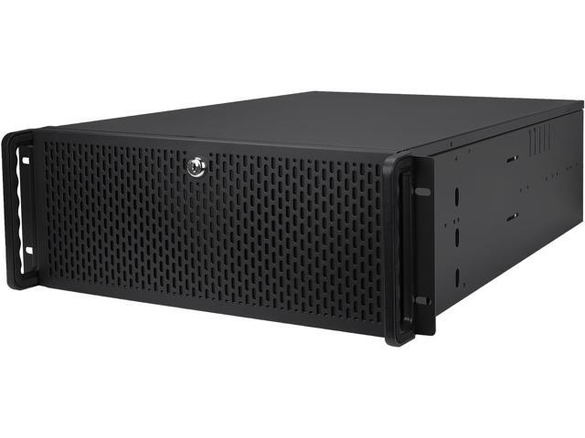 Rosewill RSV-4310L Server Case or Chassis, 4U Rackmount - 7 x Included Cooling Fans, 10 x Internal Bays