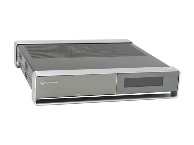 5fb8f6b3ddc9 SILVERSTONE Black Aluminum   Steel Milo Series ML02B-MXR Micro ATX Media  Center   HTPC