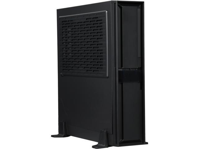 SilverStone Milo Series ML08B Black Reinforced plastic outer shell, steel body Mini-ITX Computer Case Compatible with SFX & SFX-L Power Supply