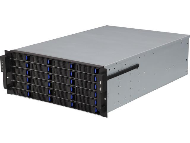 Norco Rpc 4224 4u Rackmount Server Case With 24 Hot Swable Sata Sas