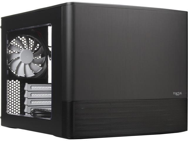 Fractal Design Node 804 Black Window Aluminum/Steel Micro ATX Cube Computer  Case - Newegg com