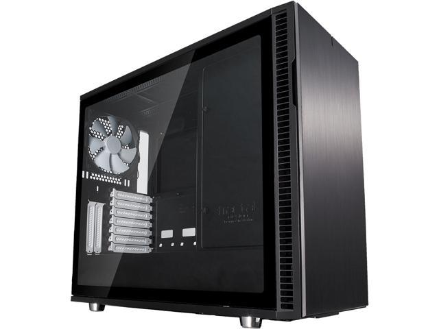 Fractal Design Define R6 Black ATX Silent Modular Tempered Glass Window Mid-Tower Computer Case