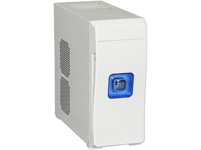 DIYPC MiniQ7-W USB 3.0 w/Dual White Fans White SECC ATX Mini Tower
