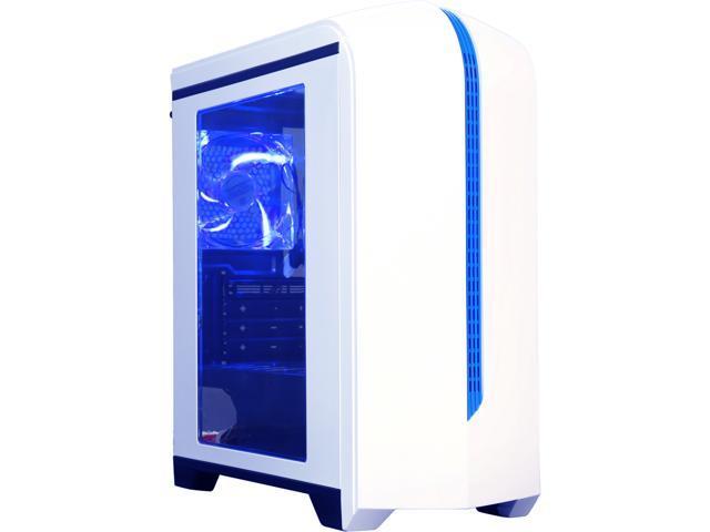 DIYPC DIY-M6-W White SECC Micro ATX Mid Tower Computer Case