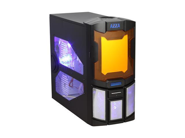AZZA Spartan 101 Black SECC Steel ATX Mid Tower Computer Case - Newegg com