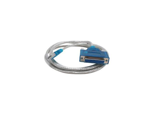 Sabrent 6ft USB 2.0 to DB25F Parallel Printer Cable (USB-DB25F)