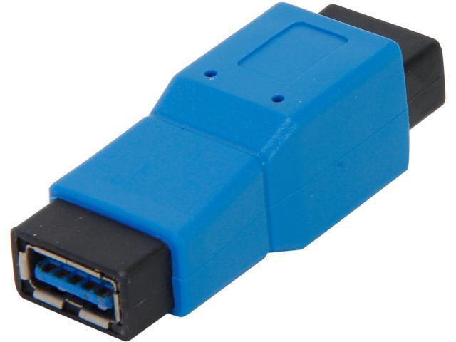 Bytecc U3-ABFF USB 3.0 Type A Female to Type B Female Adapter