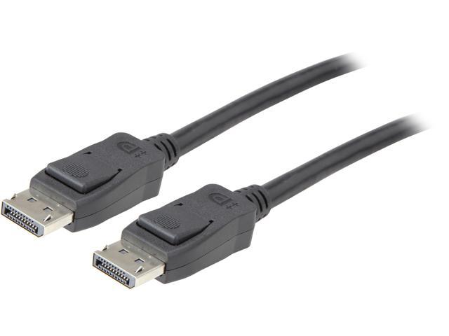Coboc CL-DP8K-3BK DisplayPort to DisplayPort 1 4 Cable, DP 1 4 Male to Male  - 8K@60Hz Resolution Ready DP to DP Cable in Black - 3FT - Newegg com