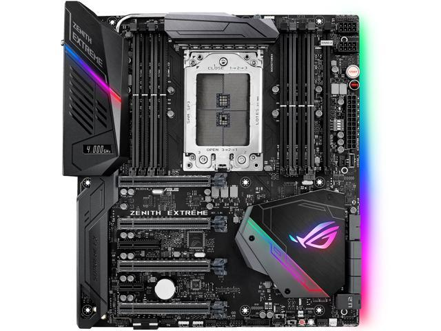 ASUS ROG ZENITH EXTREME sTR4 AMD X399 SATA 6Gb/s USB 3.1 Extended ATX AMD Motherboard