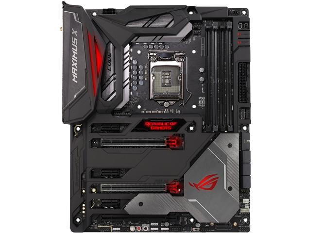 ASUS ROG Maximus X Code LGA 1151 (300 Series) ATX Intel Motherboard -  Newegg com