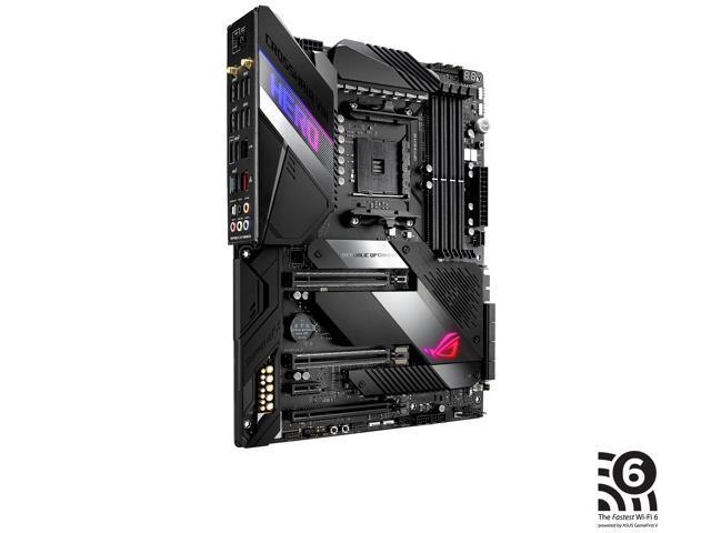 ASUS AMD AM4 ROG X570 Crosshair VIII Hero (Wi-Fi) ATX Motherboard with PCIe  4 0, Dual M 2, SATA 6Gb/s, USB3 2 Gen 2, 2 5Gbps LAN, WiFi 6 - Newegg com