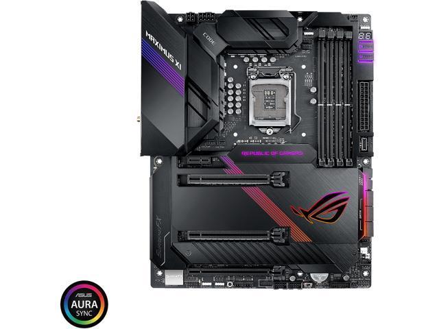 ASUS ROG Maximus XI Code Z390 Gaming Motherboard LGA1151 (Intel 8th and 9th  Gen) ATX DDR4 HDMI M 2 USB 3 1 Gen2 Onboard 802 11 ac Wi-Fi - Newegg com