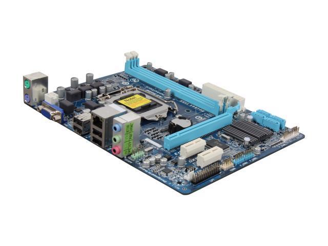 Used - Very Good: GIGABYTE GA-H61M-DS2 LGA 1155 Micro ATX Intel Motherboard  - Newegg com