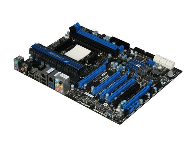 MSI 890FXA-GD70 AM3+ AMD 890FX SATA 6Gb/s USB 3.0 ATX AMD Motherboard