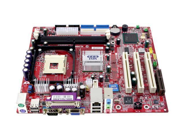 MSI 845GVM-V DRIVERS FOR PC