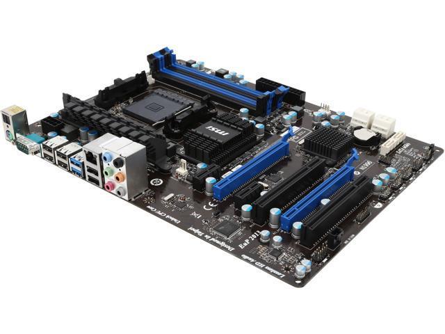 MSI 970A-G46 AM3+/AM3 ATX AMD Motherboard with UEFI BIOS - Newegg ca