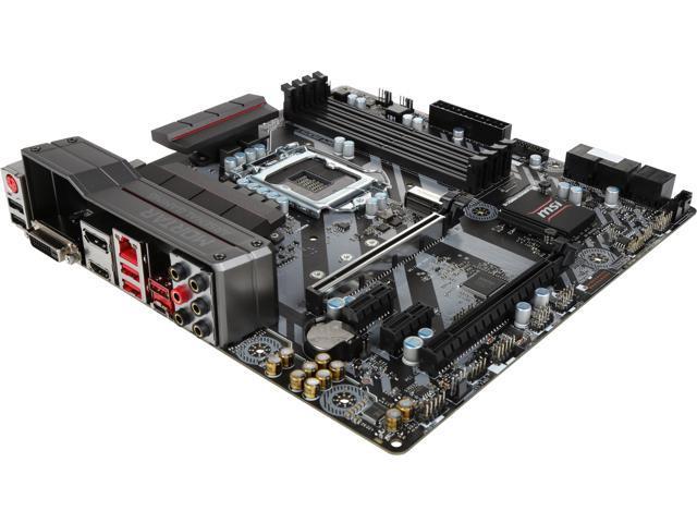 MSI B250M MORTAR LGA 1151 Micro ATX Motherboards - Intel - Newegg com