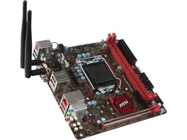 MSI H270I GAMING PRO AC LGA 1151 Intel H270 HDMI SATA 6Gb s USB 3.1 84922f65926