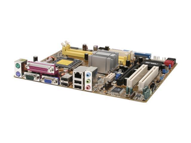 ASUS P5GZ-MX Motherboard Socket System Board