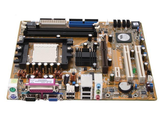 ASUS A8V-MX 939 VIA K8M800 Micro ATX AMD Motherboard - Newegg com
