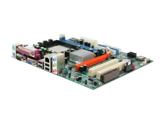 ECS K8M800-M2 1.0 motherboard micro ATX Socket 754 K8M800