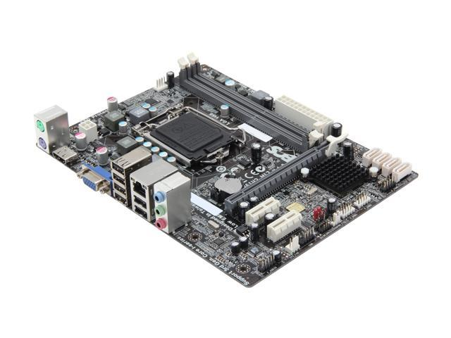 ECS H61H2-M17(v1 0) LGA 1155 Intel H61 HDMI Micro ATX Intel