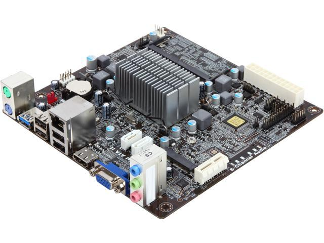 Ecs Bat I 1 2 J1800 Intel Celeron 41 Ghz Mini Itx