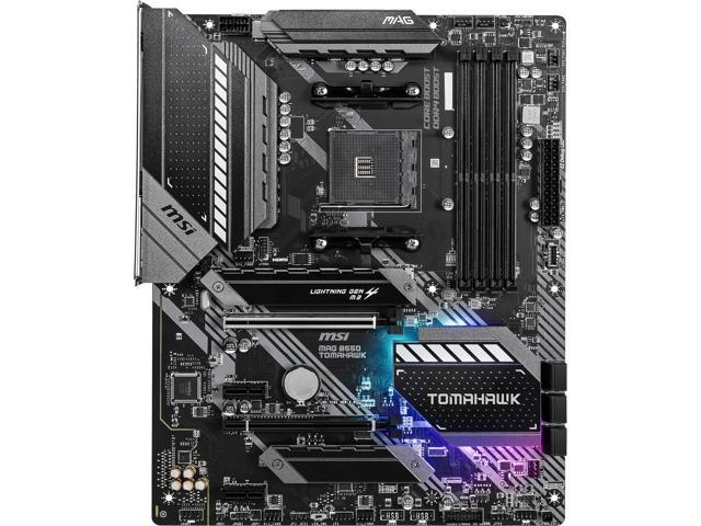 MSI MAG B550 TOMAHAWK AM4 AMD B550 SATA 6Gb/s ATX AMD Motherboard