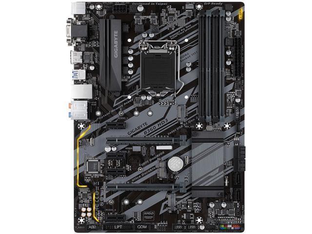gigabyte b360 hd3 lga 1151 (300 series) intel b360 hdmi sata 6gb/s usb 3 1  atx intel motherboard