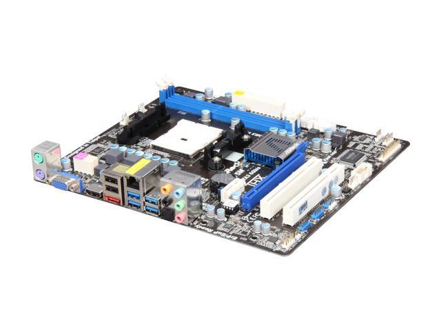 ASRock A75M FM1 AMD A75 (Hudson D3) SATA 6Gb/s USB 3 0 HDMI Micro ATX AMD  Motherboard with UEFI BIOS - Newegg com