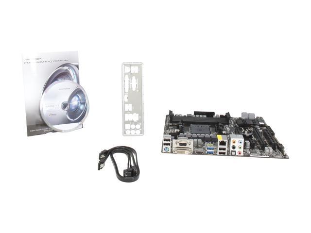 ASRock AMD A88X Motherboard FM2A88M Extreme4 DDR3 HDMI Socket FM2