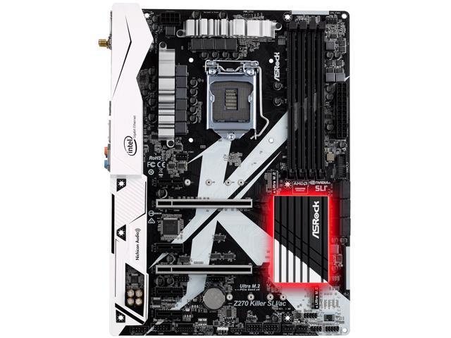 ASRock Z270 KILLER SLI//AC LGA 1151 Intel Z270 HDMI SATA 6Gb//s USB 3.0 ATX Mother