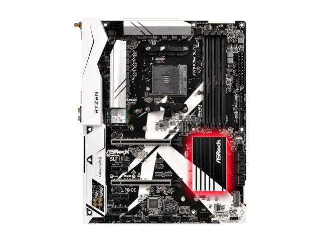 ASRock X370 Killer SLI/ac AM4 ATX AMD Motherboard - Newegg com