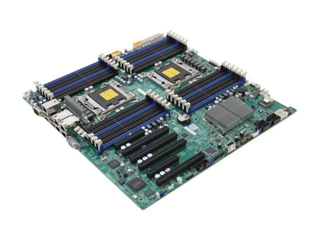 SUPERMICRO MBD-X9DRI-LN4F+-O Enhanced Extended ATX Server Motherboard -  Newegg ca