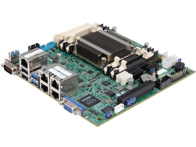 SUPERMICRO MBD-A1SRi-2758F-O Mini ITX Server Motherboard DDR3 1600 ...