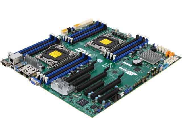 supermicro mbd x10dri t o extended atx xeon server motherboardsupermicro mbd x10dri t o extended atx xeon server motherboard dual lga 2011 3 intel c612