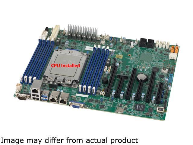 SUPERMICRO MBDH11SSL-I w/ AMD EPYC 7251 8-Core CPU Installed DDR4 ATX  Server Motherboard - Newegg com