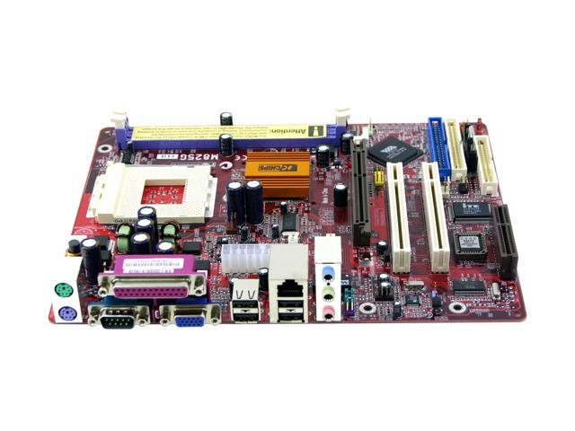 Pc chips m825g (v9. 2a) 462(a) via km266pro micro atx amd.