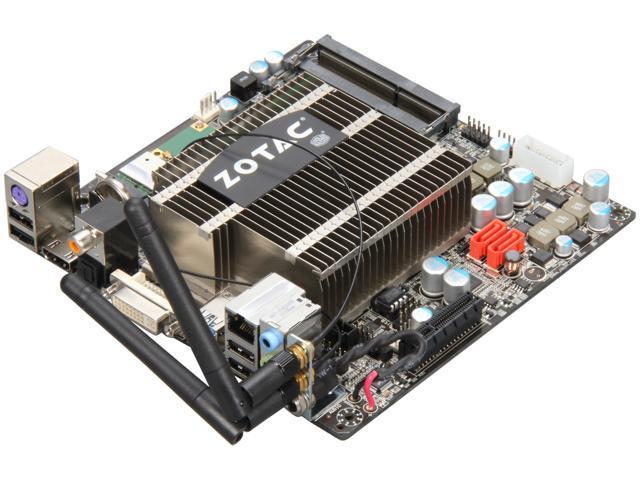 ZOTAC IONITX-T-U Intel Atom D525 (1 8GHz, Dual-Core) Intel NM10 Mini ITX  Motherboard/CPU Combo - Newegg com