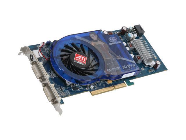 SAPPHIRE Radeon HD 3850 DirectX 10 1 100228L 512MB 256-Bit GDDR3 AGP 4X/8X  HDCP Ready Video Card - Newegg com