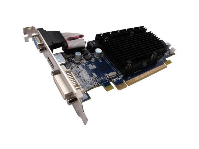 SAPPHIRE Radeon HD 4350 DirectX 10 1 100264HDMI 512MB 64-Bit DDR2 PCI  Express 2 0 x16 HDCP Ready CrossFireX Support Low Profile Ready Video Card  -