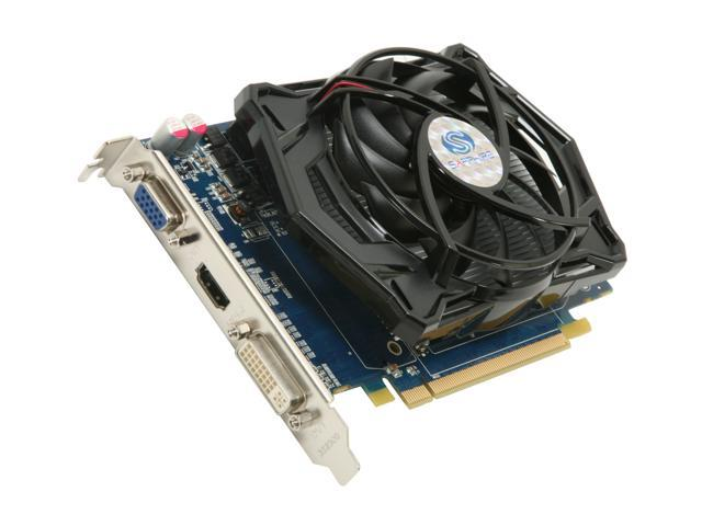 SAPPHIRE Radeon HD 4670 DirectX 10.1 100296HDMI 1GB 128-Bit DDR3 PCI Express 2.0 x16 HDCP Ready CrossFireX Support Video Card