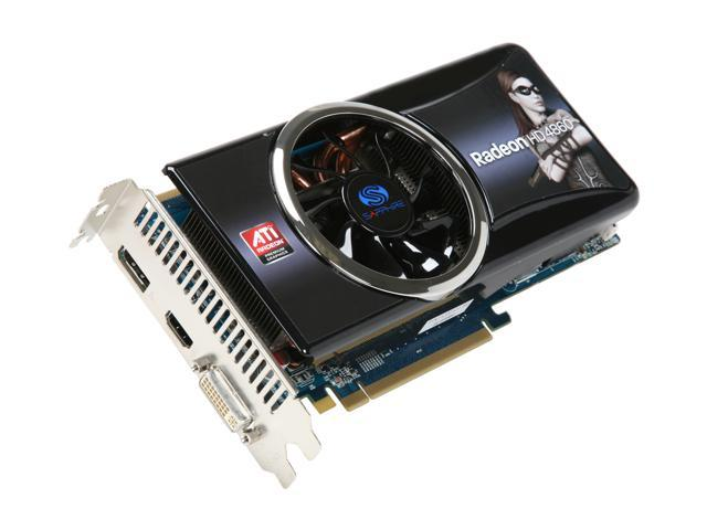 SAPPHIRE Radeon HD 4860 DirectX 10.1 100286L 1GB 256-Bit GDDR5 PCI Express 2.0 x16 HDCP Ready CrossFireX Support Video Card