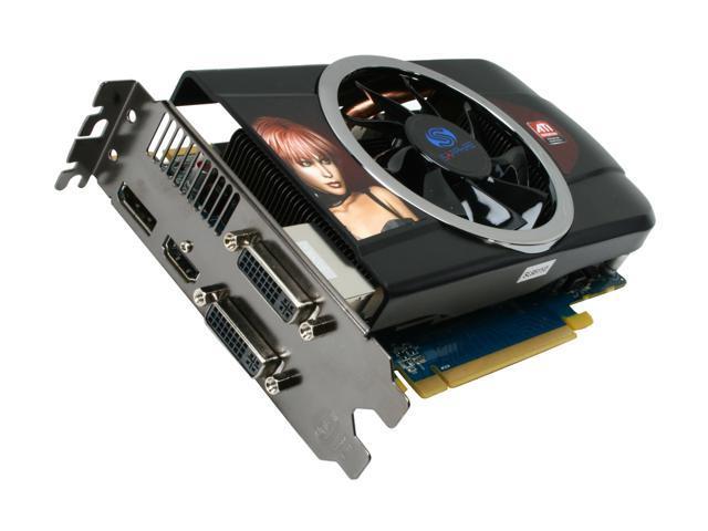 SAPPHIRE Radeon HD 5770 DirectX 11 100283-3L Video Card